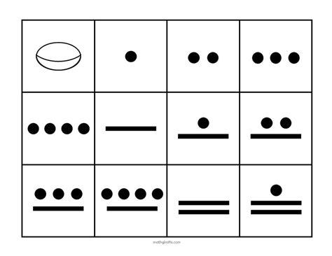 mayan math worksheet www pixshark images galleries
