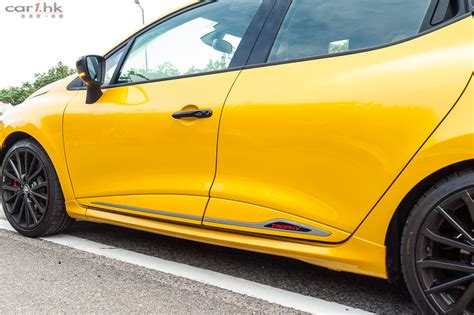 Review Renault Clio R S by Renault Clio R S Trophy 實力斜背辣跑小改 香港第一車網 Car1 Hk