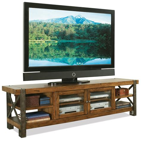 rustic tv console table rustic tv stand console table with bookshelf and storage