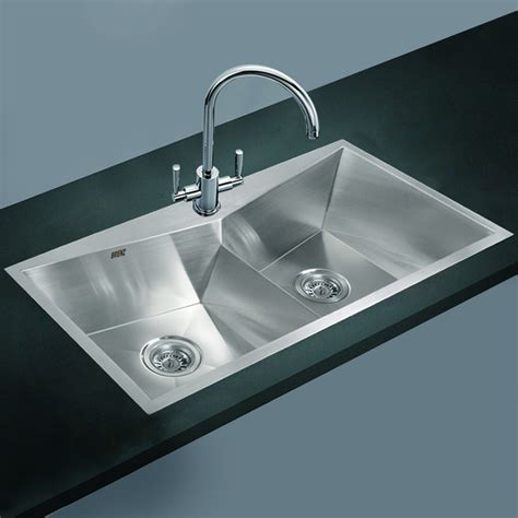 stainless steel kitchen sinks stainless steel kitchen sink twin double bowl square