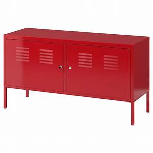 Ikea Ps Metallschrank : armoire m tallique rouge 119x63 cm ikea ps ikea ~ Watch28wear.com Haus und Dekorationen
