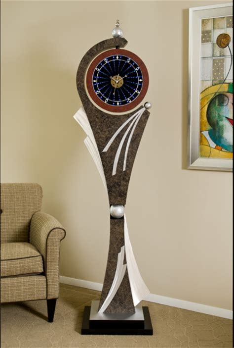Hang Time Grandfather Infinity Clock Page of Infinity Art