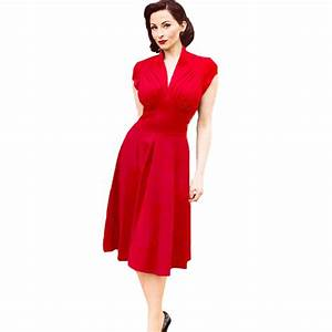 vetement femme new summer style retro vintage dress 50s With vêtements femme vintage