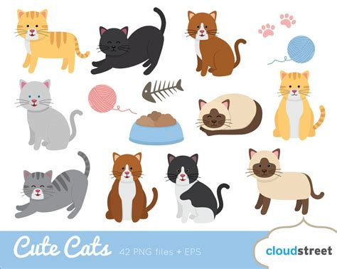 clipart cat cats clip cat clipart kitten vector graphics