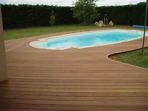 Bois Pour Terrasse Piscine : terrasse de piscine en bois quel budget pr voir et ~ Edinachiropracticcenter.com Idées de Décoration