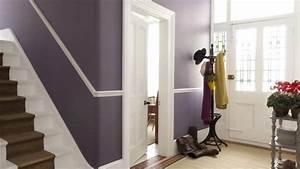 62 ideen fur farbgestaltung im flur und eingangsbereich With balkon teppich mit weiße tapete ohne streichen