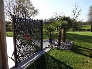 Brise Vue En Aluminium : pare vue metal un pare vue exoteck ~ Edinachiropracticcenter.com Idées de Décoration