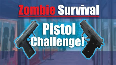 Only Pistol Challenge!  Gmod Zombie Survival Youtube