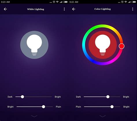 app controlled led lights app controlled colourful change 7w rgb wifi led light bulb
