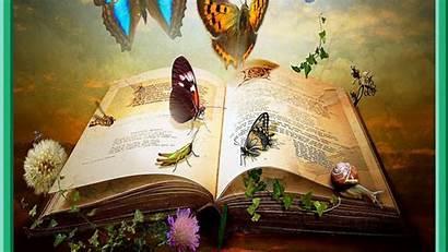 Books Desktop Backgrounds Fantasy Knowledge Wallpapers Artistic
