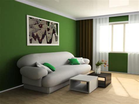 desain ruang tamu warna hijau dirumahkucom
