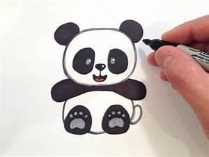 Cute Baby Panda Drawings How To Draw A Cute Panda Bear ...
