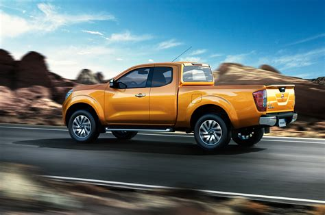 Nissan Reveals Their New Navara Pickup Truck Which Is