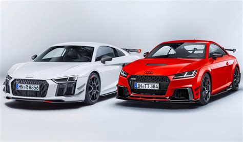 audi r8 audi sport announces racy performance parts accessories