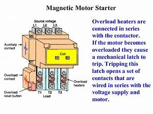 Wiring A Magnetic Motor Starter