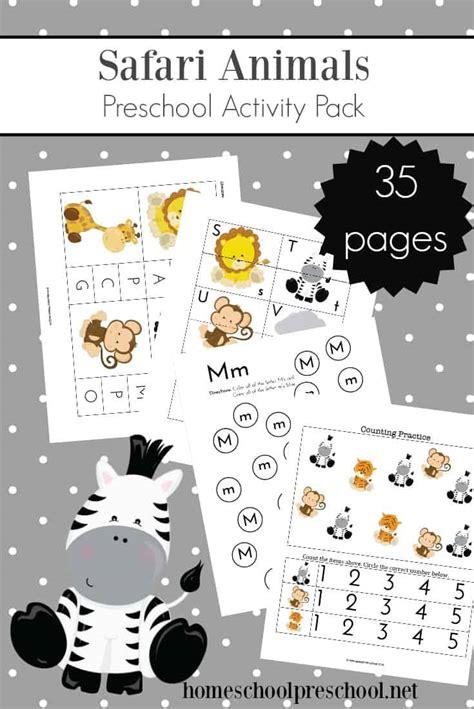 teach preschool with free jungle animal printables 935   jungle animals activities 1
