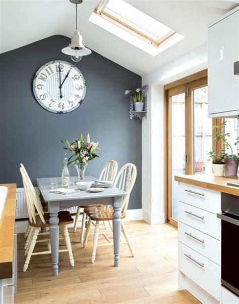 cuisine bleu emejing mur de cuisine peint en bleu contemporary