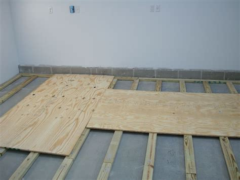 Daves Experience Installing A Plywood Floor With 2x4