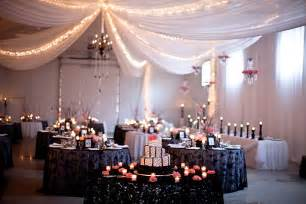 Wedding Reception Decorations in Shed