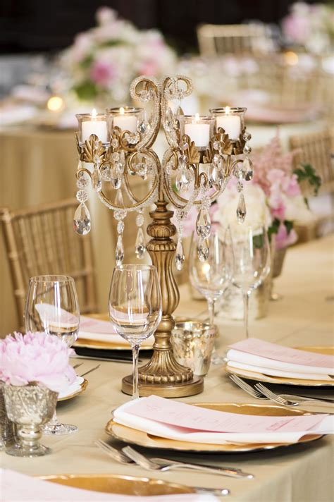 and gold reception decoration classic connecticut wedding from justin marantz