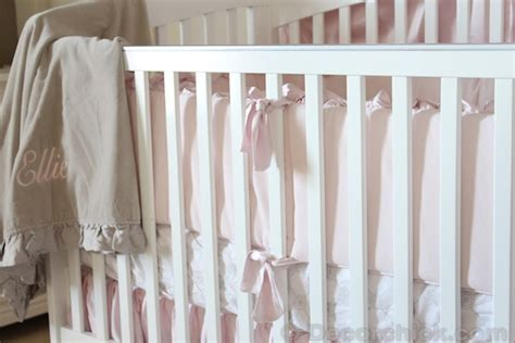 Restoration Hardware Crib Bedding by Nursery Progress Baby Bedding And Bed Crown Decorchick