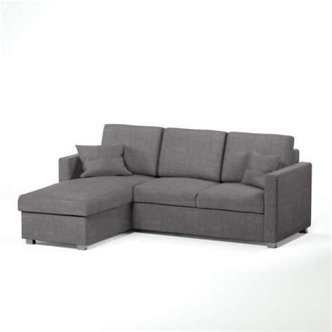 jules canap 233 d angle r 233 versible convertible 4 places tissu gris contemporain l 220 x p 166