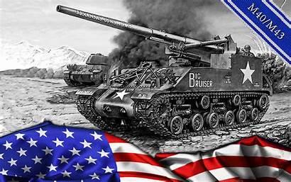 M43 Tank M40 Tanks Military Mobile