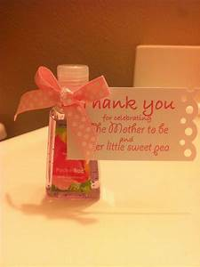 79 best baby shower thank you gifts images on pinterest for Hand sanitizer bridal shower favors