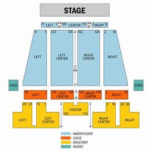 Stranahan Theater Toledo Seating Chart