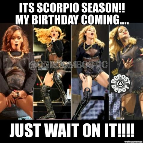 Scorpio Season Memes - 20 best scorpio memes astrology special sayingimages com