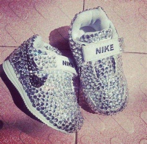 cute baby bedazzled nike shoes bedazzled shoes