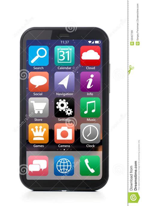 modern smartphone modern smartphone stock photo image 59467789