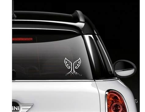 Roots & Wings Insignea Car Window Decal / Sticker