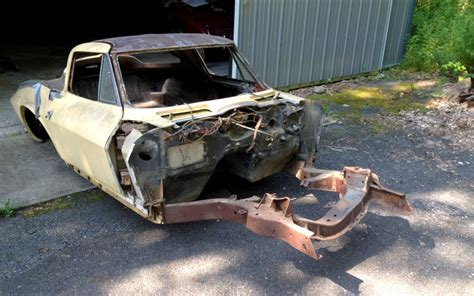 real splity  imposter  corvette project