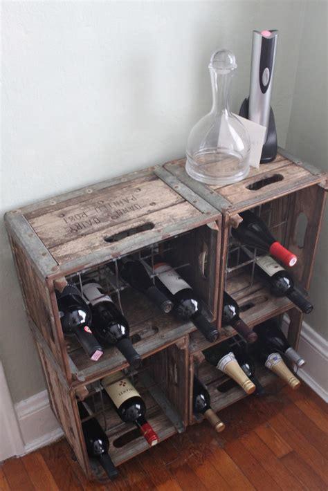 methods  turn wine crates