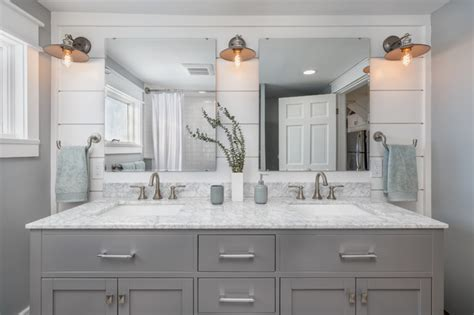 Bathroom Design Boston by Essex Farm House Rehab And Renovation Transitional