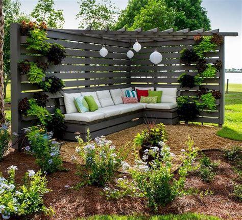 garden ideas seating area diy backyard designs small