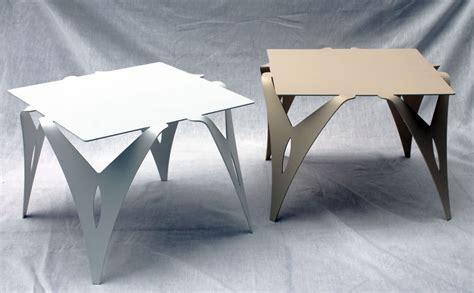 bout de canap 233 table de chevet design moderne m 233 tal objectal