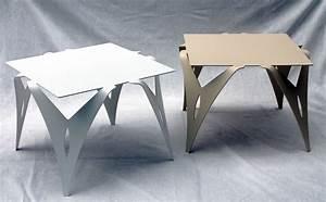 Table Bout De Canapé : bout de canap table de chevet design moderne m tal objectal ~ Teatrodelosmanantiales.com Idées de Décoration