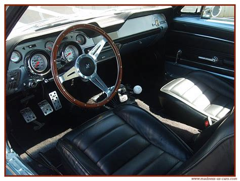 mustang shelby gt 500 interieur eleanor shelby gt 500 e 1967
