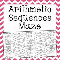 Arithmetic Sequences Maze  Maze, Chang'e 3 And Student