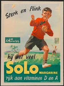Solo margarine, advertisement 1946 (Commercial ...
