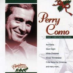 perry como oh holy night christmas musics my cd s collection