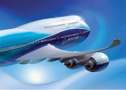 Boeing 747 Intercontinental Artist Created Impression Airplane