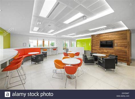 Modern open plan interior office space Stock Photo
