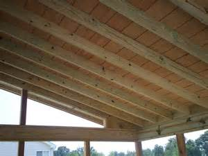 Outdoor Porch Ceiling Wood