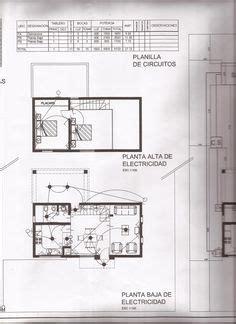 plano comun de una casa con cuadro de cargas plantas y esquema unilineal sujetos a norma