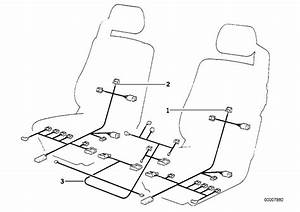 Bmw 850csi Wiring Set Seat