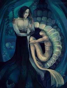 Drarry mermaid!AU #3 - Snape, please, help him by Luska ...