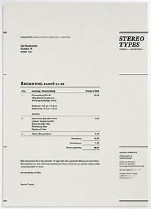 Rechnung Template : contoh faktur invoice tagihan dengan desain ~ Themetempest.com Abrechnung